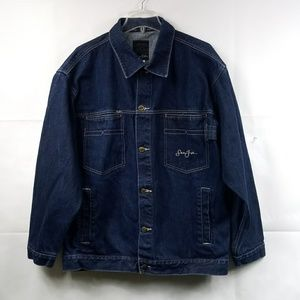 Sean John blue jean jacket